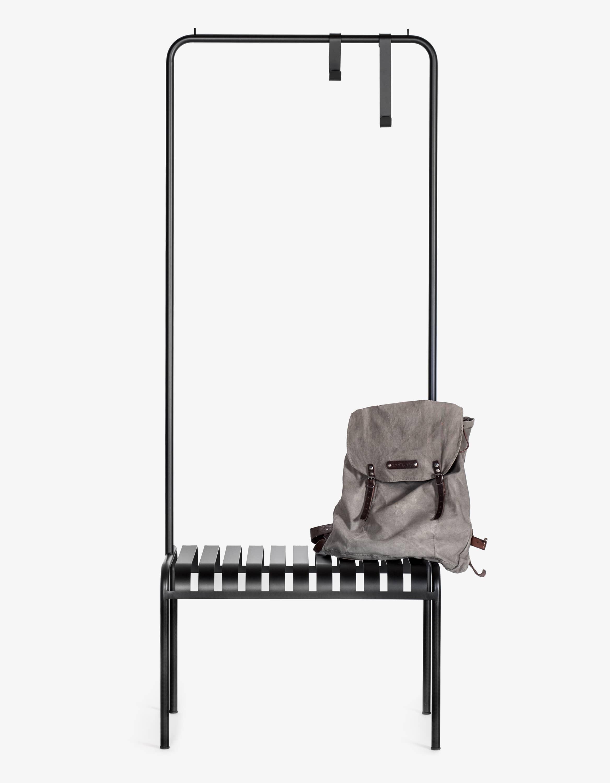 Garderobe Youtoo, klassisches Design,aus Rundrohr Pulverbeschichtet.
