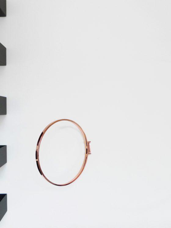 ringe Wandobjekt von Zascho Petkow für Atelier Haussmann,berlin design,Garderobe, Verrkupfert