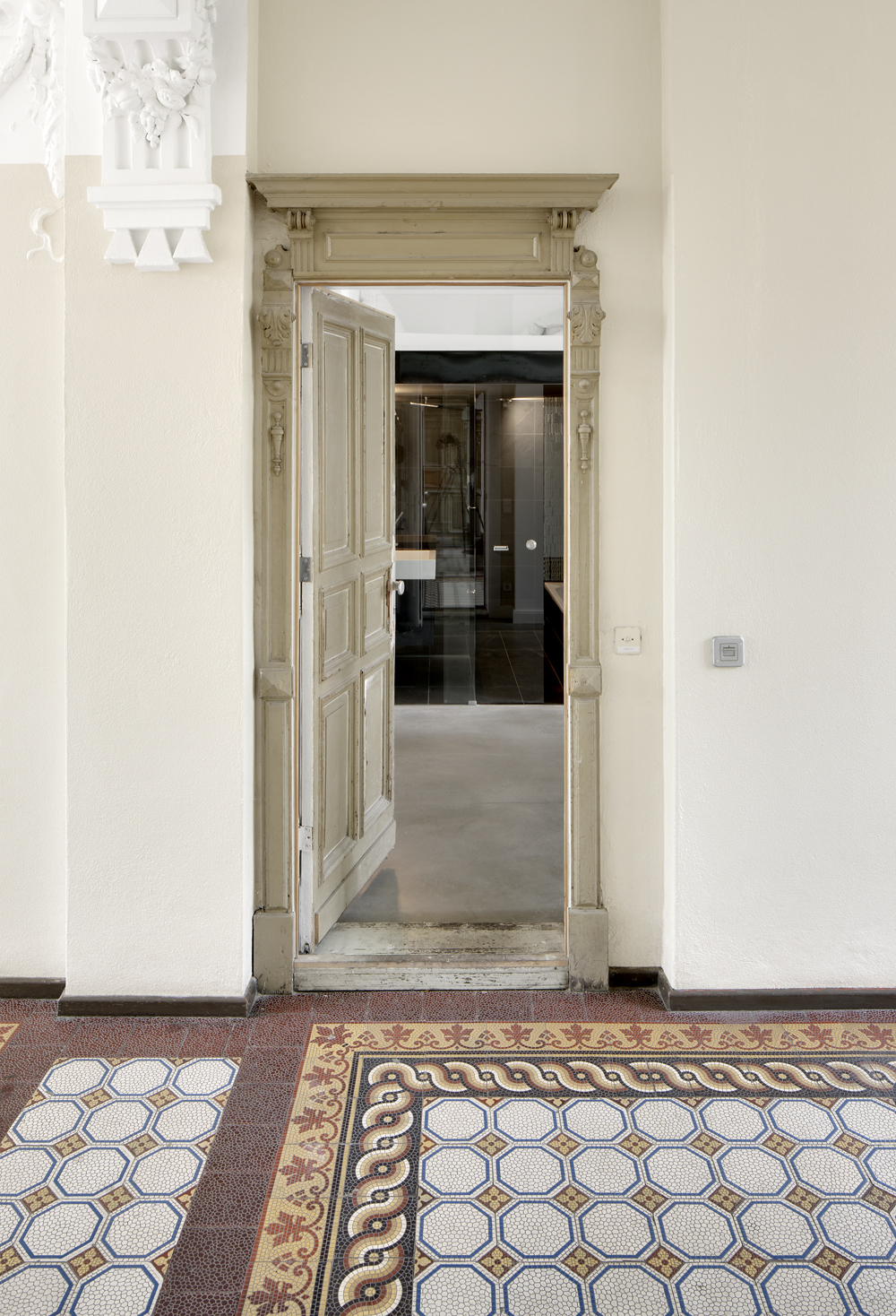 Musiker Wohnung Innenausbau Atelier Haussmann Entwurf Archbüro