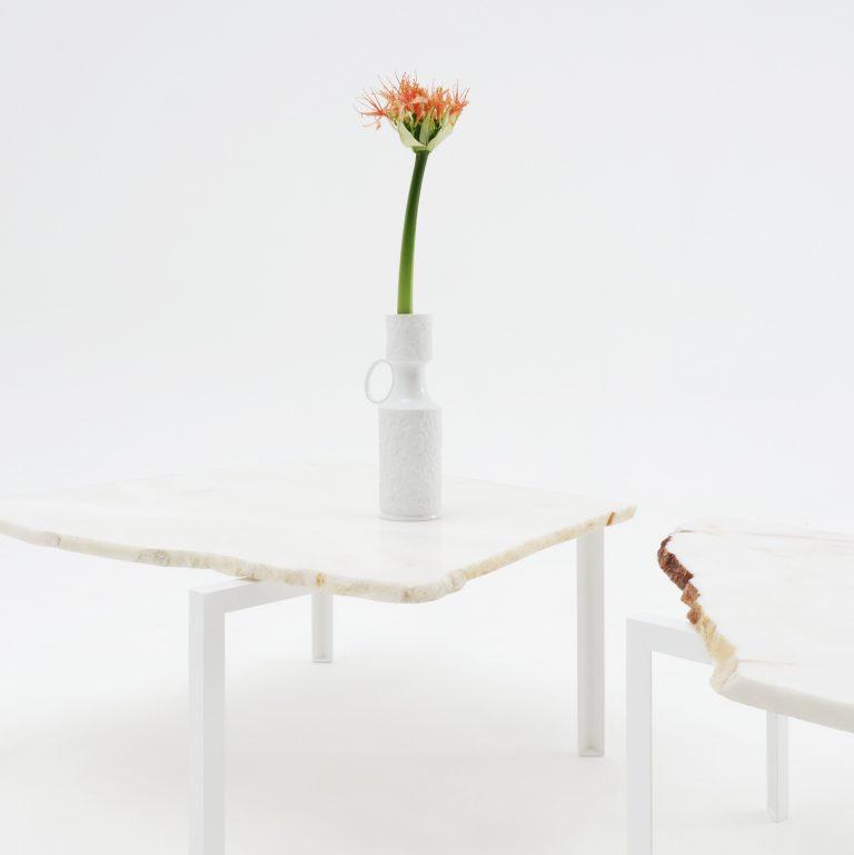 Petite Table d'angle  Stein Nr.30,31 Unikate