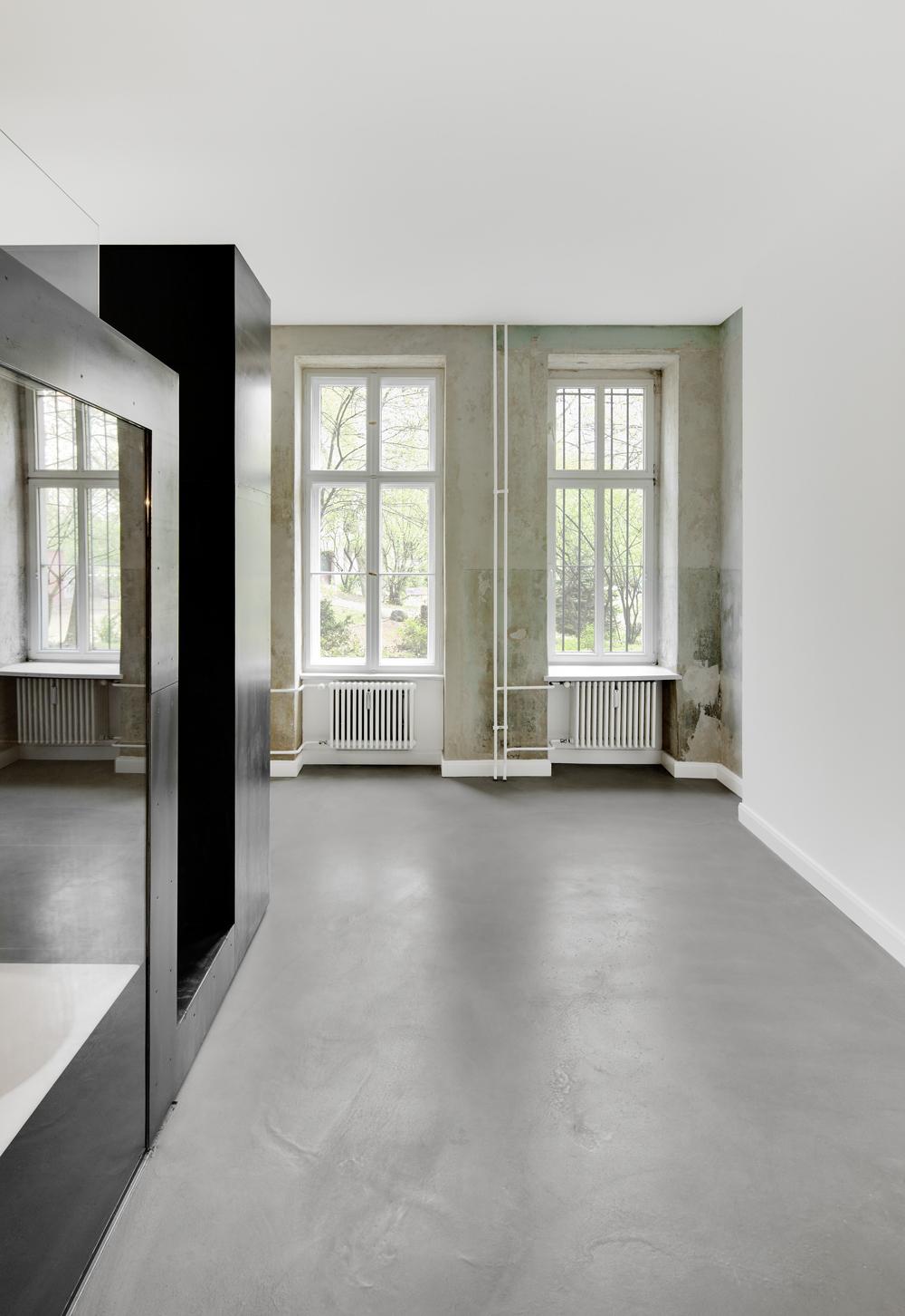 Musiker Wohnung Innenausbau Atelier Haussmann3 Atelierhaussmannde