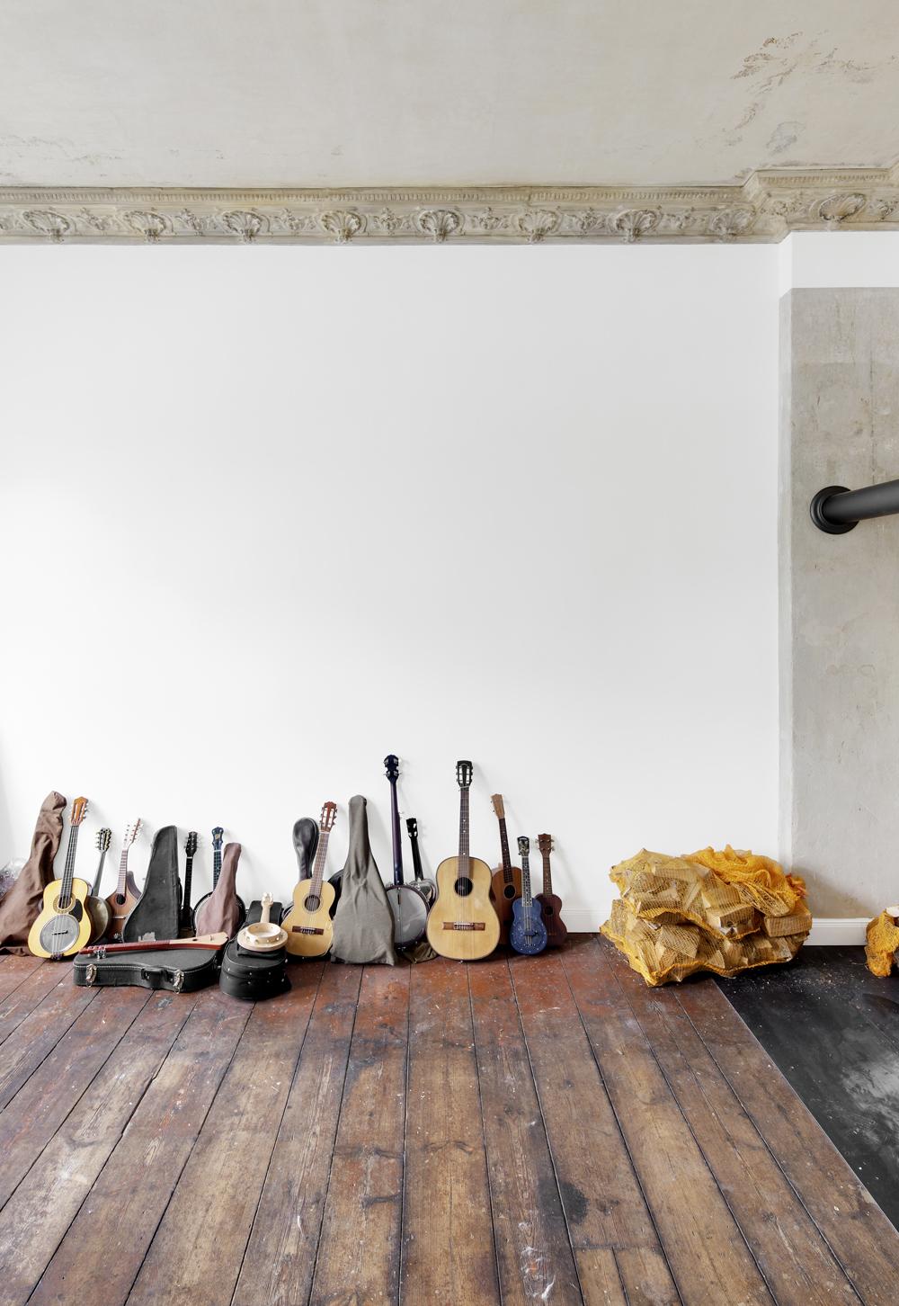 Musiker Wohnung Buchner+Winker Innenausbau Atelier Haussmann