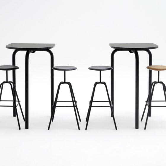 Atelier Haussmann-Herrenberger Hocker-Tisch Piombino