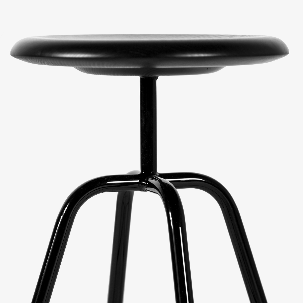 This stool is inspired by the designs and models of industrial furniture of the '30s.Simple, clear and timeless, the tubular steel frame is secure and robust on 4 legs. With its simple appearance, can be used in almost any home or professional places. The seat is made of solid wood shaped to ensure the right comfort.Simple, clear and timeless, the tubular steel frame is secure and robust on 4 legs. With its simple appearance, can be used in almost any home or professional places. The seat is made of solid wood shaped to ensure the right comfort.Simple, clear and timeless, the tubular steel frame is secure and robust on 4 legs. With its simple appearance, can be used in almost any home or professional places. The seat is made of solid wood shaped to ensure the right comfort.