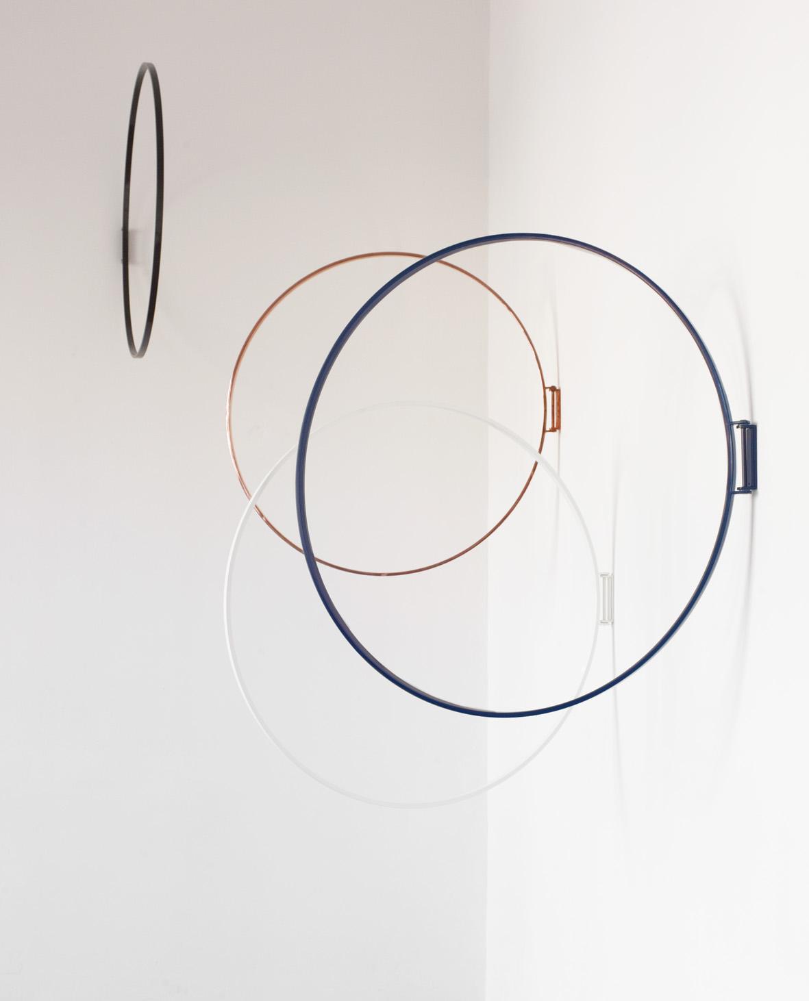 Ringe is a wall objekt from Zascho Petkow, Wardrobe