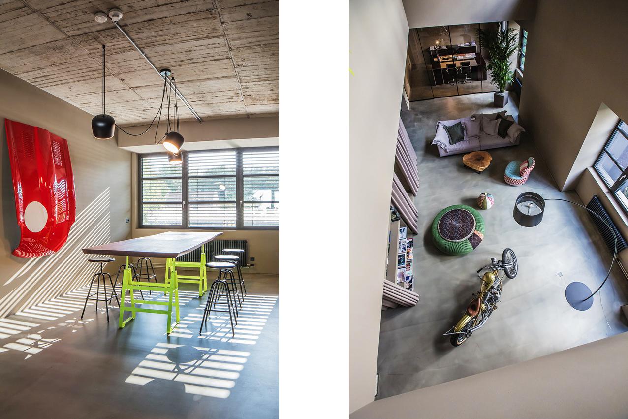 Alpha Industrie Headquarter Frankfurt, Architeckt Morgen, Lackaffe Atelier Haussmann