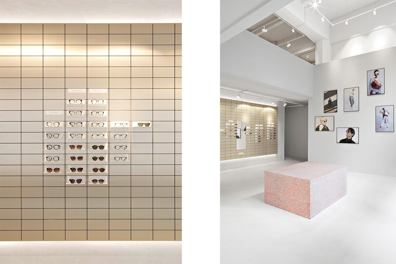 Viu Stores Wien ,Lackaffe und Herrenbergerhocker von Atelier Haussmann