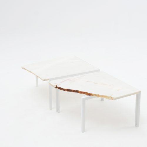 Petite table d'angle Tisch Mamor Atelier Haußmann
