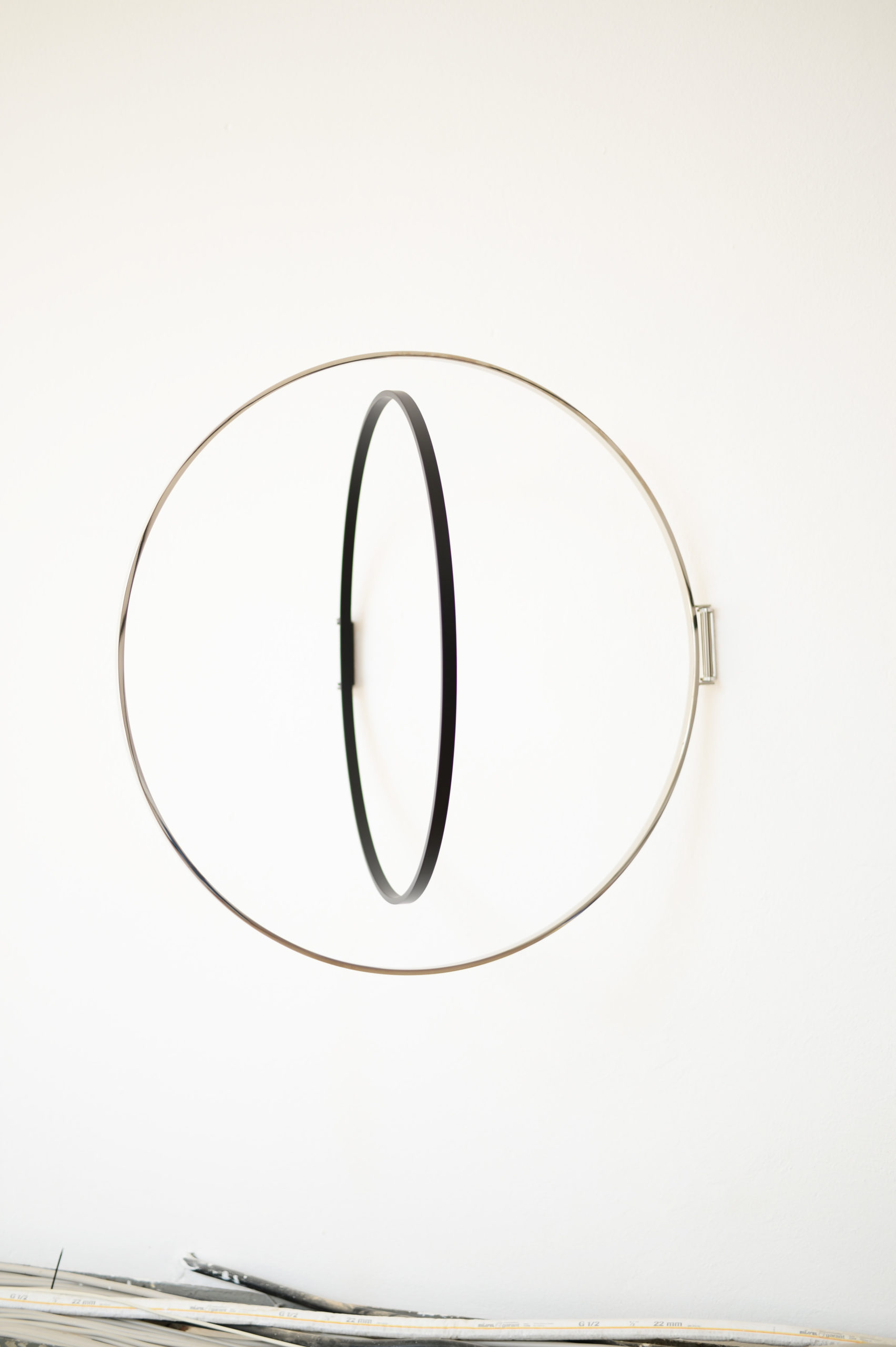 Ringe Stahl Wandmontage Atelier Haußmann