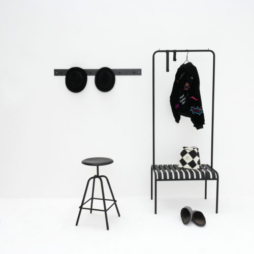 Youth wardrobe and Hellogoodbye wardrobe and Herrenberger stool